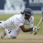 Pradeep gets out hit wicket
