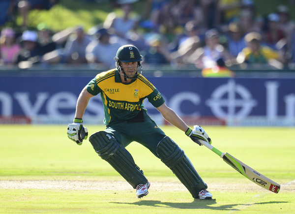 De Villiers 'satisfied' after victory