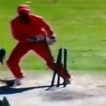 AB's embarrassing run-out