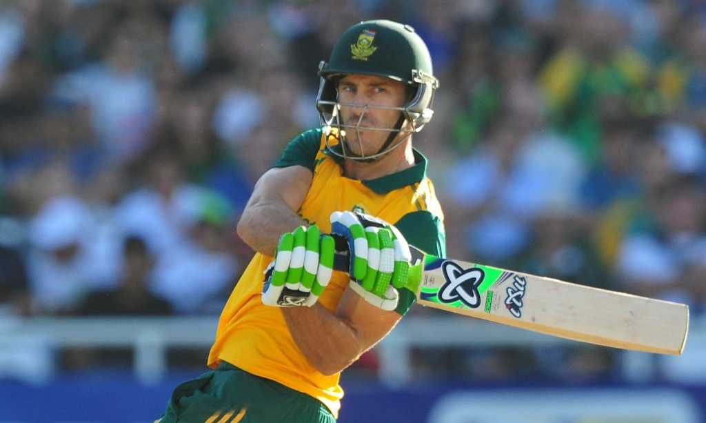 Mature Faf sets the right tone
