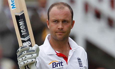 Trott double ton brings tame draw