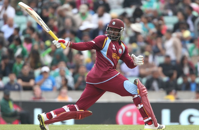 Gayle reaction on Twitter