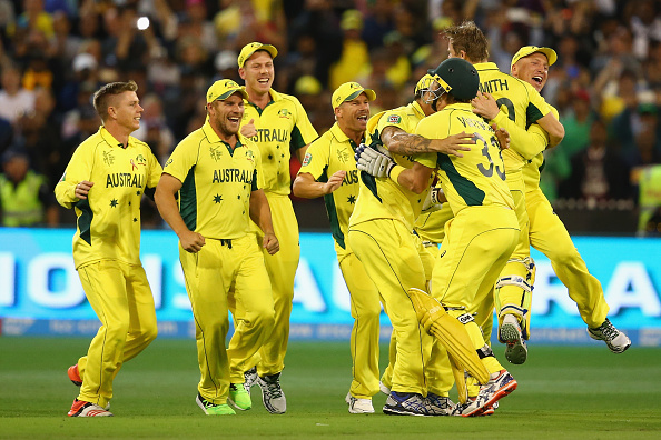 Aussies storm to fifth title
