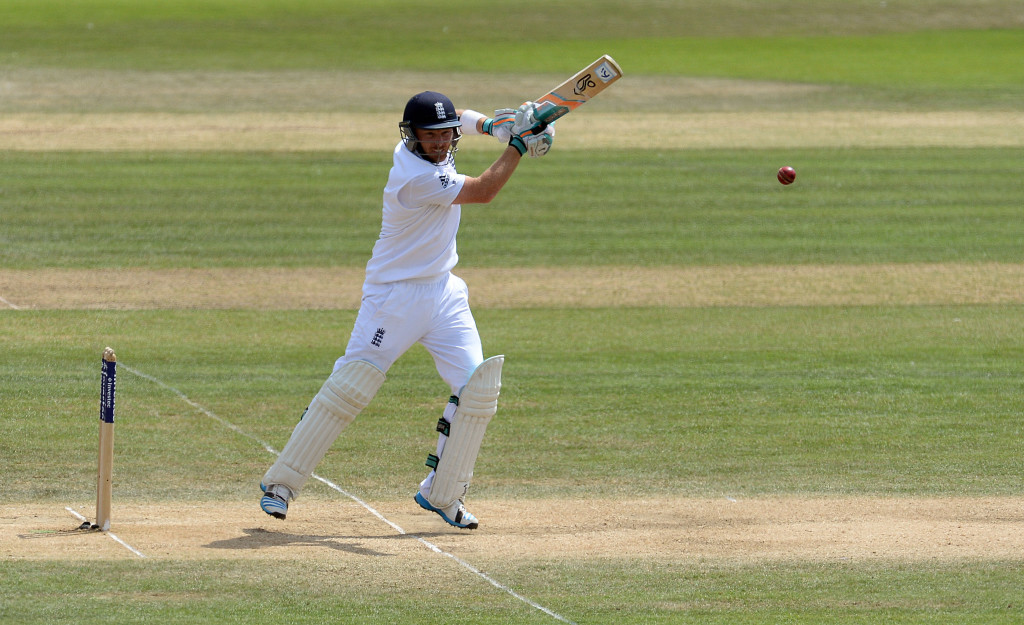 Bell gives England strong start
