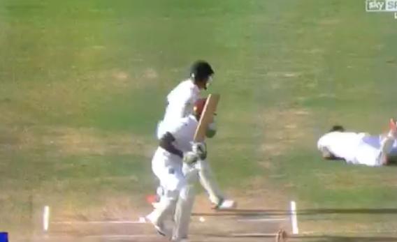 Stunning catch in Test