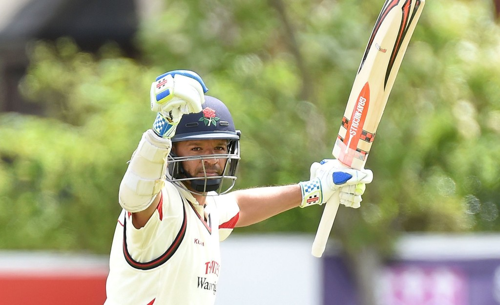 Prince sets pace with 230