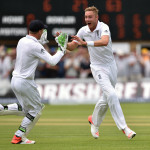 Stuart Broad 400 wickets