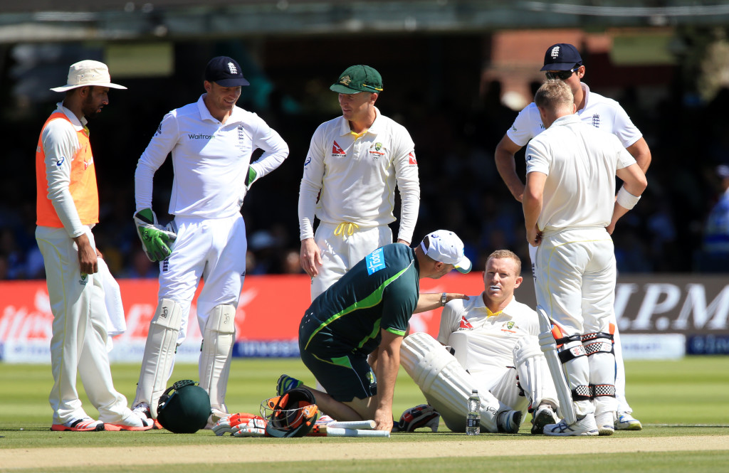 Rogers on track for third Test