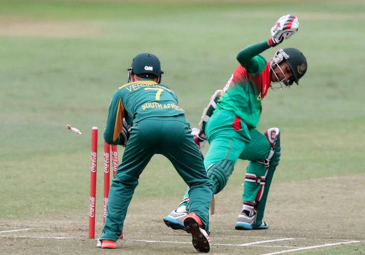 SA U19 batsmen come up short