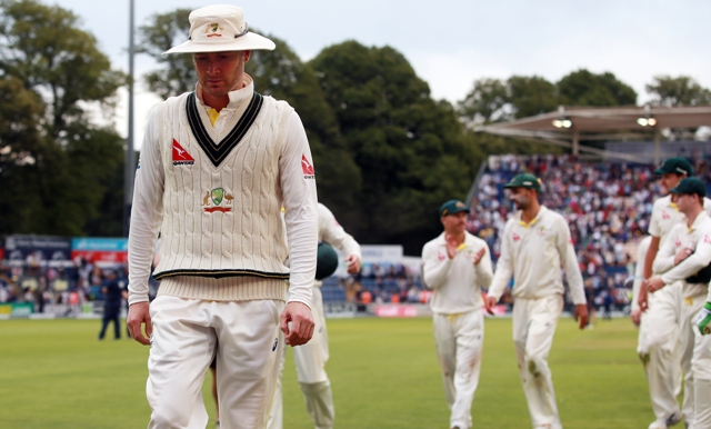 England take control of first Test