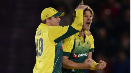 Australia draw first blood
