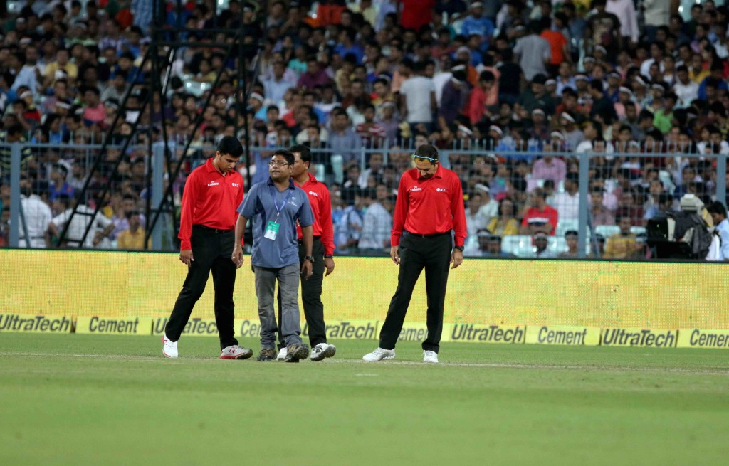 Third T20 abandoned