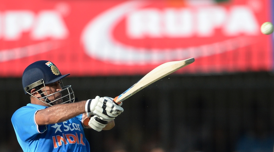 Dhoni gives India a chance