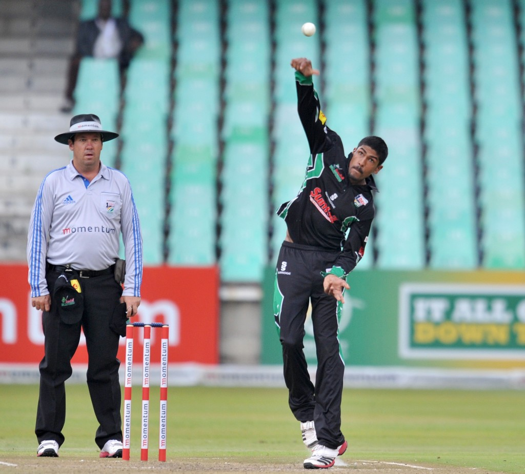 Subrayen suspended from bowling