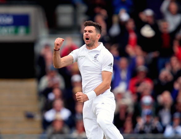 Anderson, Broad make it England's day