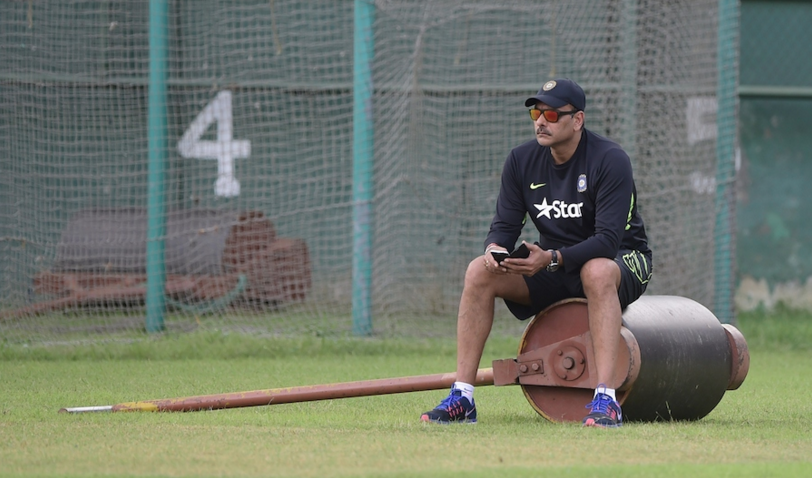 Shastri defends Indian pitches