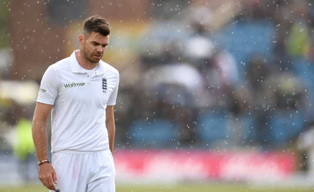 Anderson out of first Test