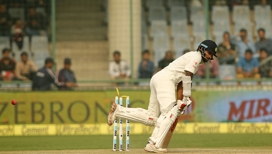 India recover after double strike