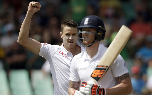 Morkel sparks England collapse