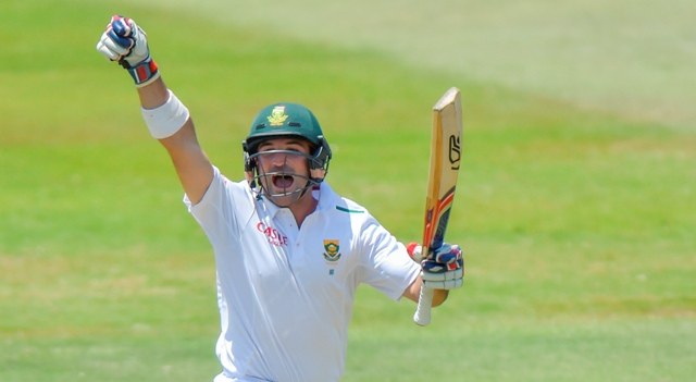 Elgar stands alone as Proteas fall