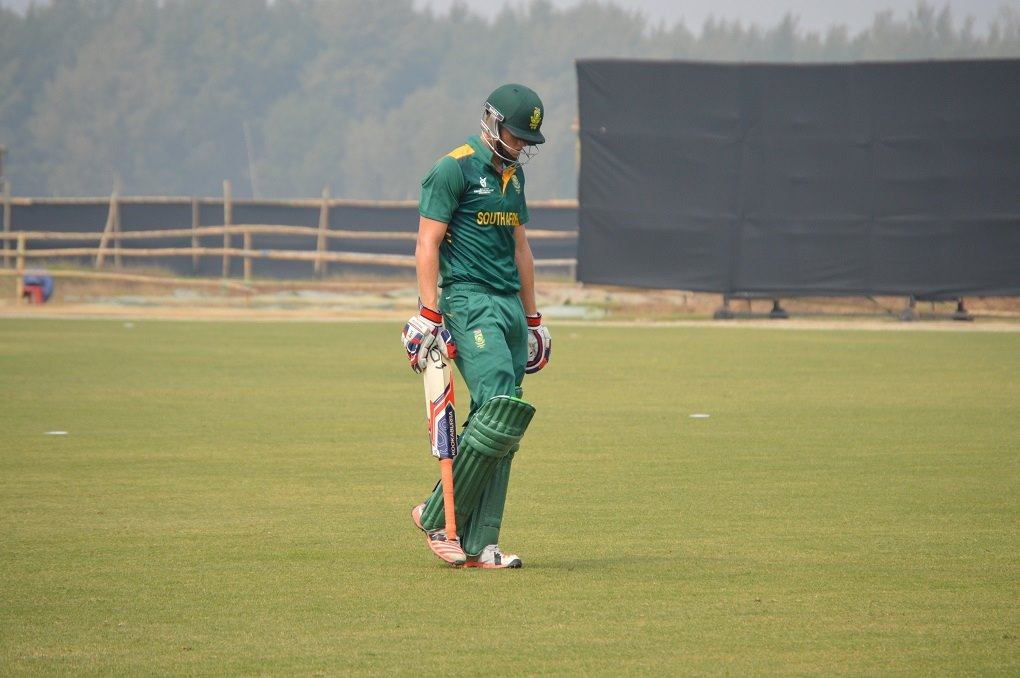 South Africa knocked out of U19 World Cup