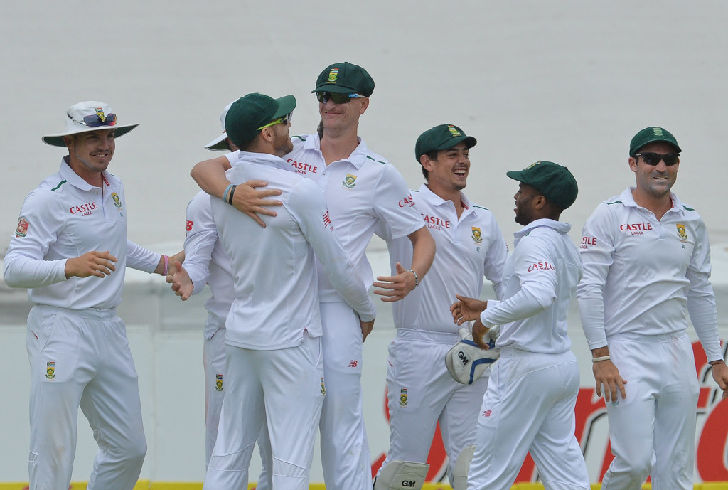 Proteas unchanged for series