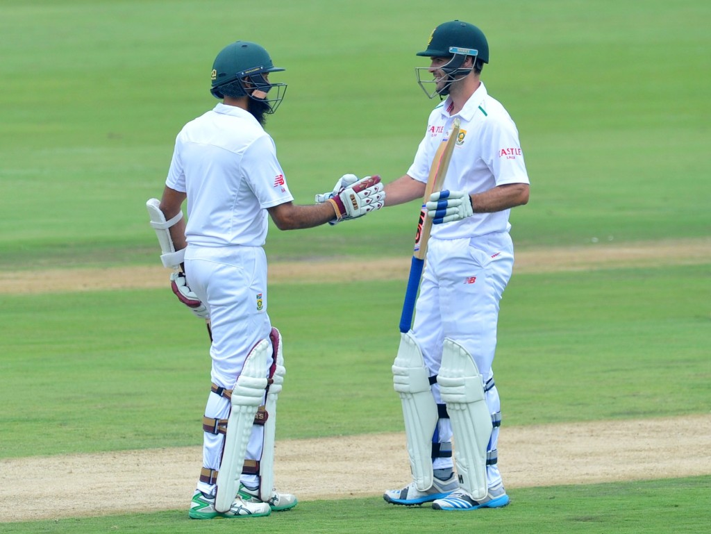 Stephen Cook and Hashim Amla