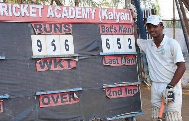 Schoolboy tops 1 000 runs
