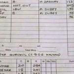 Schoolboy's 1 000 runs a disgrace
