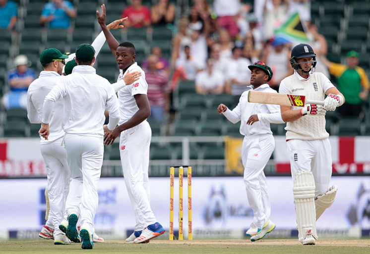 Rabada halts England march
