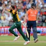 Tahir stars as England post 134