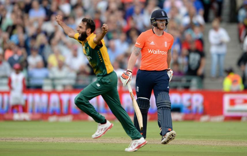 Tahir stars as England post 134