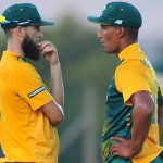 Morgan, Hales crush A team