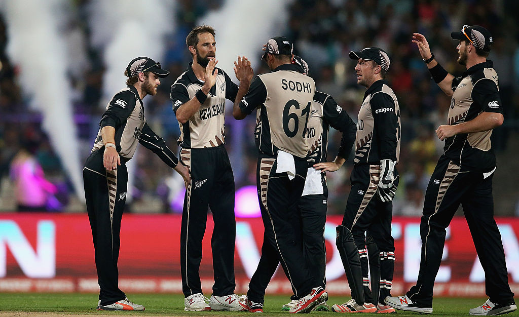 Black Caps march on