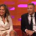 Flintoff explains cricket to Jennifer Lopez