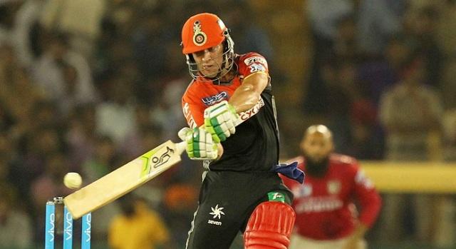 AB's blast sets up RCB win