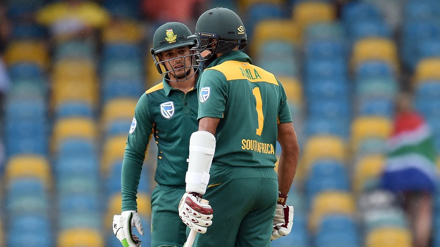 Proteas bowl first