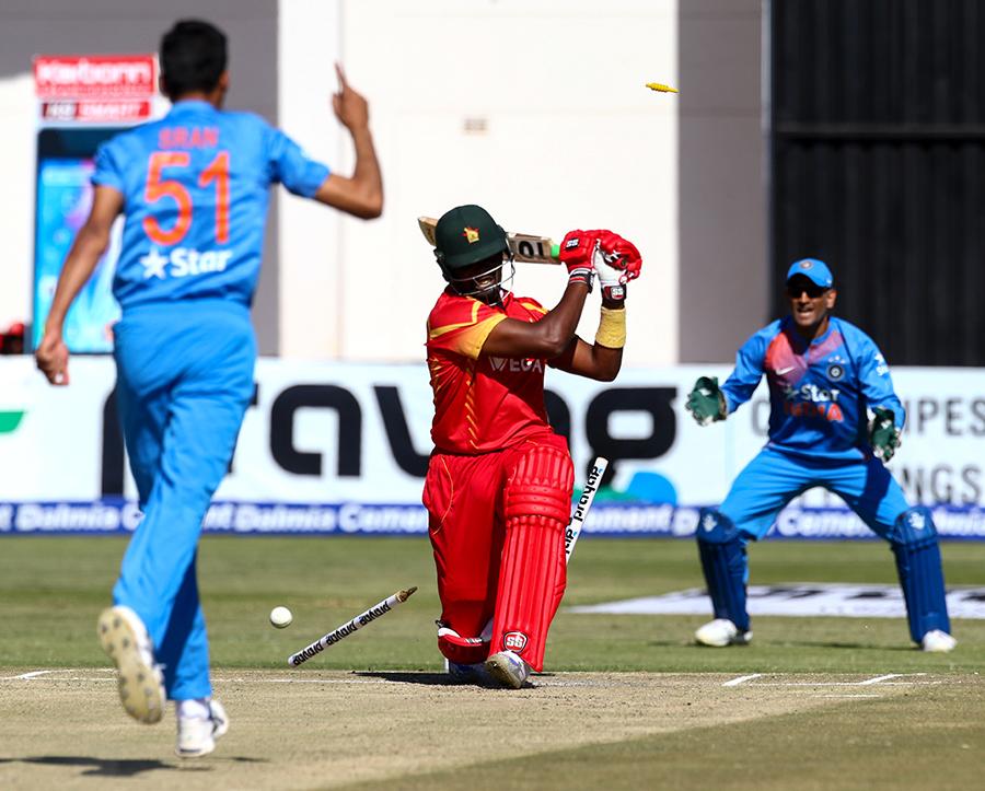 India dominate in Harare