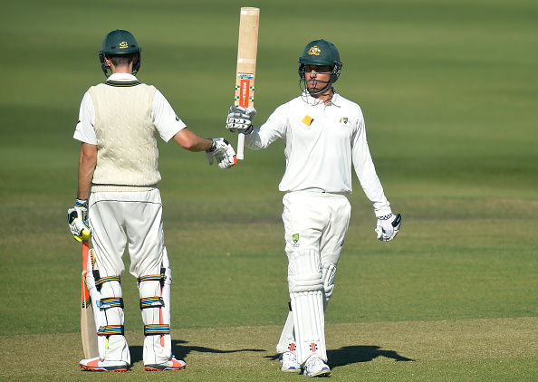 Mixed day for South Africa A