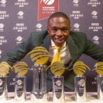 Rabada wins record six awards