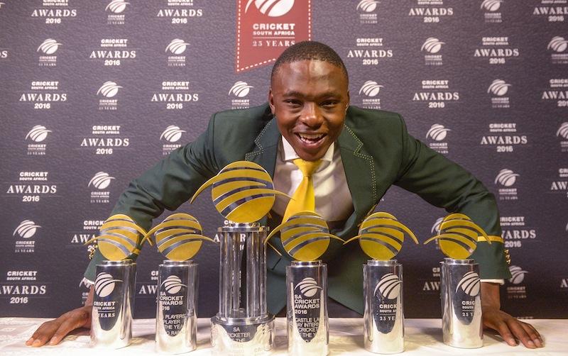 Rabada wins record six awards