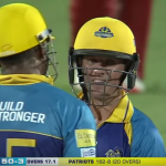 AB smashes a fifty
