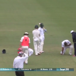Philander takes one for the team