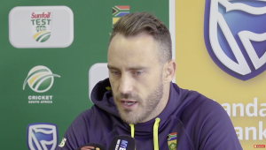 Draw disappointing - Faf