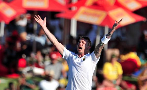 Steyn rips through New Zealand