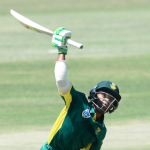 Bavuma hits debut ton as SA post 354