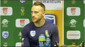 Steyn puts fear into opposition – Du Plessis