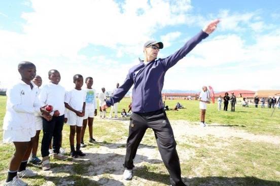 Improving lives through cricket