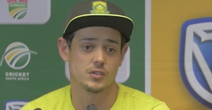 De Kock delighted with his performance