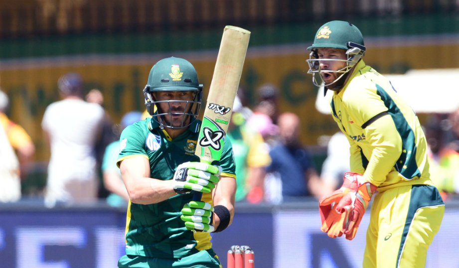 Faf, Duminy guide Proteas to 361-6